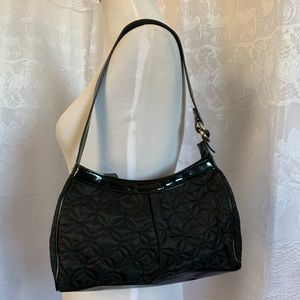 Vera Bradley Black Handbag Shoulder Bag Small